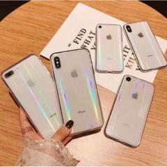 "Thumbnail of ""【iPhone7,8SE(第2世代)用】オーロラ スマホケース クリアケース"""