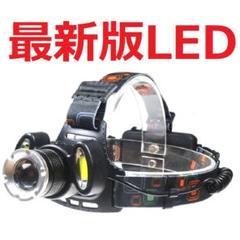"Thumbnail of ""超強力1灯LED2灯COB ヘッドライト セットCREE以上長時間E99403"""