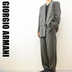 "Thumbnail of ""A6144 GIORGIO ARMANI ダブル セットアップ スーツ グレー"""