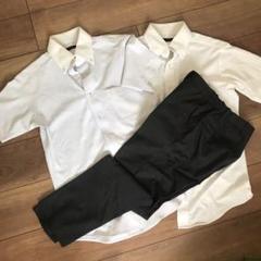 """Thumbnail of """"再値下【送料込】suit select ビジネスパンツ 半袖ワイシャツ2枚おまけ"""""""