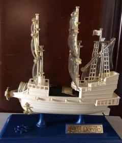 "Thumbnail of ""L Dorville ナポレオン ブランデーミニボトル『船』"""