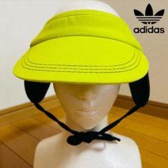 """Thumbnail of """"adidas アディダス サンバイザー 耳あて付き イエロー ブラック"""""""