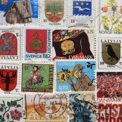 "Thumbnail of ""5449 現品限り 外国切手使用済30枚 おまとめ割引あり"""