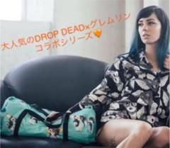 """Thumbnail of """"DROP DEAD ドロップデッド★生産終了 人気グレムリンコラボ ドラムバッグ"""""""