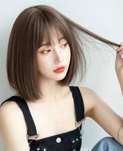 """Thumbnail of """"ウィッグ女性ショートヘアボボヘッド韓国の女の子ショートストレートヘア"""""""