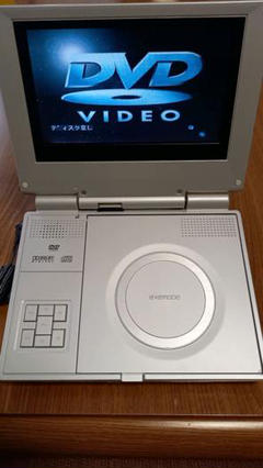 "Thumbnail of ""ポータブルDVDプレーヤー EXEMODE PD-720B"""