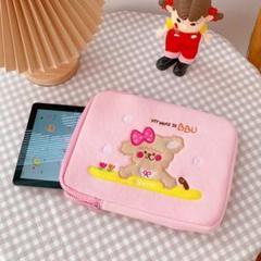 "Thumbnail of ""milkjoy タブレット ipad ケース 韓国 カバー ピンク 可愛い"""
