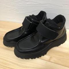 """Thumbnail of """"ブーツ 厚底ブーツ 革靴 セミブーツ"""""""