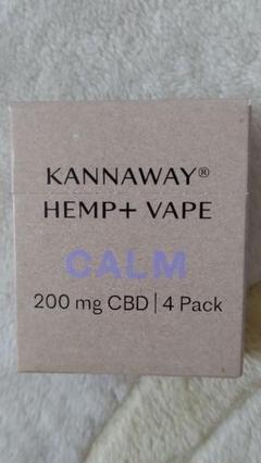 "Thumbnail of ""KANNAWAY キャナウェイ  VAPE カートリッジ"""