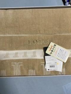 """Thumbnail of """"LANVIN ランバン タオルケット 140×200 綿100%"""""""