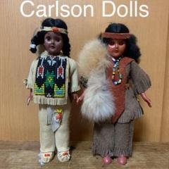 """Thumbnail of """"ビンテージUSA製 インディアン Carlson Dolls 2体セット"""""""