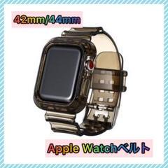 """Thumbnail of """"【限定特価】AppleWatchベルト クリアブラック 透明バンド 42/44"""""""