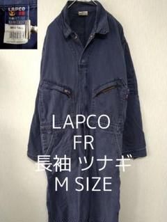 "Thumbnail of ""M LAPCO FR 長袖 ビッグ オールインワン ツナギ ネイビー 紺色"""