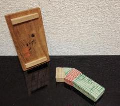 """Thumbnail of """"作家物 時代 熨斗 色絵香合 共箱 茶道具"""""""
