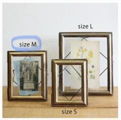 "Thumbnail of ""Arabian photo frame サイズM ゴールドフォトフレーム 真鍮製"""