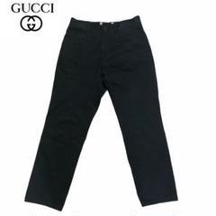 """Thumbnail of """"GUCCI チノパン パンツ 黒 ブラック グッチ イタリア製"""""""