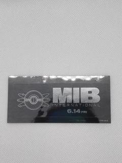 "Thumbnail of ""メン・イン・ブラック MIB INTERNATIONAL 映画入場特典"""