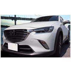 """Thumbnail of """"マツダ CX-3 DK系 専用クロームメッキ ヘッドライト アイライン"""""""