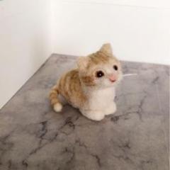 "Thumbnail of ""猫 羊毛フェルト"""