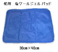"Thumbnail of ""冷感塩クールジェルパッド 枕用 (30cm×40cm) 冷却マット②"""