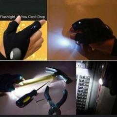 "Thumbnail of ""新品 未使用 手袋 ライト アウトドア ジョギング 防犯 安全 両手  17"""