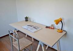 """Thumbnail of """"Simple Sawhorse Table Light gray 155"""""""