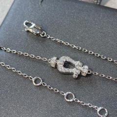 "Thumbnail of ""「高品質」Au750ダイヤモンドホワイトゴールドネックレス"""