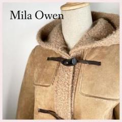 "Thumbnail of ""美品☆ミラオーウェン ダッフルコート 牛皮 サイズ1 Mila Owen"""