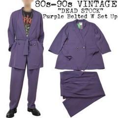 "Thumbnail of ""★新品★80s 90s VINTAGE セットアップ★スーツ★パープル★菅田将暉"""