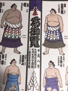 """Thumbnail of """"大相撲絵番付表 平成八年名古屋場所 若貴全盛時代"""""""