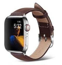"Thumbnail of ""【新品】ダークブラウン アップルウォッチ バンド 高級ベルト 本革 Apple"""