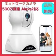 "Thumbnail of ""【新品】ネットワークカメラ ベビーモニター ペットカメラ 500万画素 動体検知"""