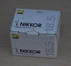 "Thumbnail of ""最終 Nikon 1NIKKOR 18.5mm f/1.8 美品"""