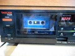 """Thumbnail of """"3ヘットオートリバース メンテ済みTASCAM 112Rプロ用カセットデッキ"""""""