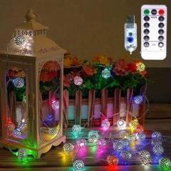 """Thumbnail of """"モロッコボール LED フェアリーライト USB 3m×20 カラフル"""""""
