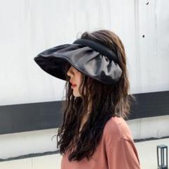 "Thumbnail of ""帽子 韓国スタイル レディース 日焼け対策 サンバイザー UVカット 高品質"""