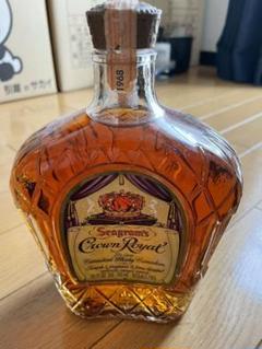 "Thumbnail of ""最安値❗️古酒 未開封 クラウンロイヤル1968ウイスキー 710㎖"""