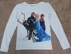 """Thumbnail of """"H&M ディズニー アナ雪ロングTシャツ 130-140cm"""""""