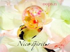 "Thumbnail of ""Nice spirit.r スノードーム ガラスドーム 指輪 リング 水晶 光"""