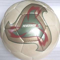 """Thumbnail of """"2002年日韓ワールドカップ 公式試合球 フィーバーノヴァー 5号球 置き台付"""""""
