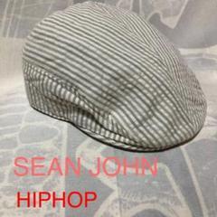 "Thumbnail of ""SEAN JOHN ハンチング ストライプ キャスケット キャップ ヒップホップ"""