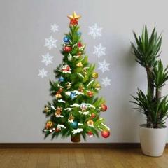 """Thumbnail of """"新品 キレイに剥がせる♪【クリスマスツリー】ウィールステッカー 壁紙 賃貸OK!"""""""