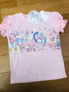 "Thumbnail of ""エコネコ リボン Tシャツ110 新品未使用"""