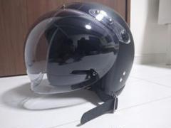 """Thumbnail of """"バイク用 ジェットヘルメット マットブラック"""""""