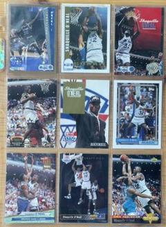 """Thumbnail of """"NBA Shaquille O'Neal ROOKIカード 9枚セット"""""""