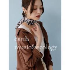 "Thumbnail of ""★ 【新品】earth music&ecology レオパード柄ナロースカーフ★"""