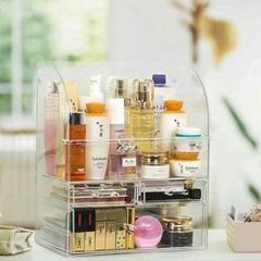 "Thumbnail of ""化粧品収納ボックス 大容量 メイクボックス 高透明度 強い耐久性 整理簡単 3"""