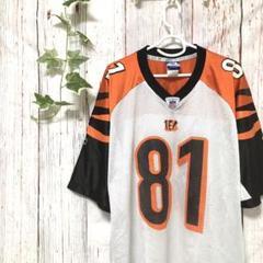 "Thumbnail of ""NFL   アメリカンフットボールベンガルズ ゲームシャツ OWENS"""