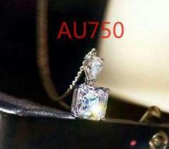 "Thumbnail of ""【究極美品】美しいネックレス 18K Au750 3カラット  ダイヤモンドA"""