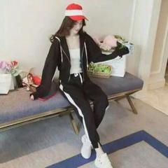 """Thumbnail of """"春秋の韓国版のファッションの中隊の帽子の護衛のスポーツのスーツ1"""""""